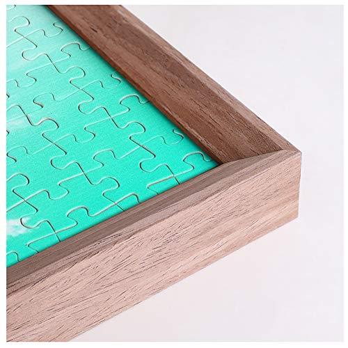 HZW 300/500/1000/1500 Stück Puzzle-Rahmen Massivholz-Poster-Rahmen Puzzle-Zubehör Bild Fotorahmen Poster-Rahmen Zertifikat-Rahmen,C,70.5x100.5cm
