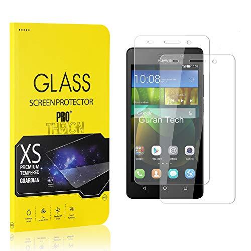 THRION 2 Stück Panzerglas für Honor 4C, Schutzfolie 2.5D HD Clear 9H Festigkeit Anti-Kratzen Blasenfrei Bildschirmschutzfolie Folie für Huawei Honor 4C
