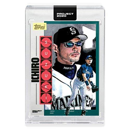 2020 Topps Project 2020 Baseball #183 Ichiro Suzuki Seattle Mariners Artist Jacob Rochester 2001 Topps Traded