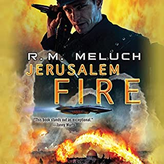 Jerusalem Fire audiobook cover art