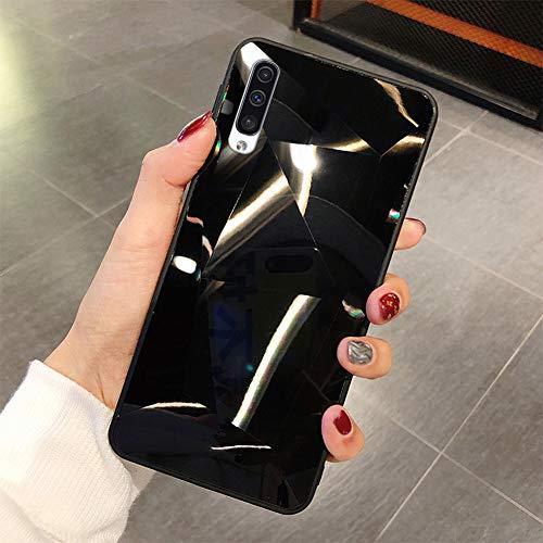 Kompatibel mit Galaxy A70 Hülle Spiegel...