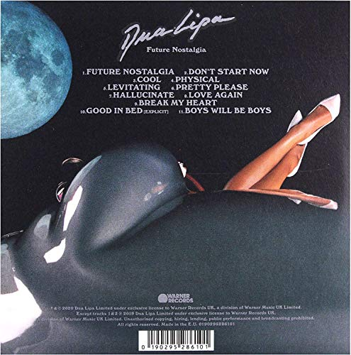 Dua Lipa - Future Nostalgia (Cd)