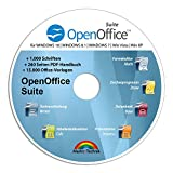 Open Office Suite 2019 Home Student Professional - 100% kompatibel mit Microsoft® Office® Word® und Excel® für Windows 10-8-7-Vista-XP