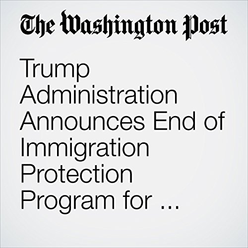Trump Administration Announces End of Immigration Protection Program for 'Dreamers' copertina
