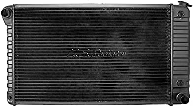 Eckler's Premier Quality Products 50-204695 Chevelle Radiator, Big Block, 4-Row, For Cars With Manual Transmission & Without Air Conditioning, Desert Cooler, U.S. R