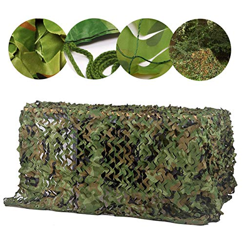Camouflage Net Camping Sunscreen Nets, Camouflage Netting Shade Net Sun Network Awnings Oxford Cloth Camping Tent 5*8m 8*10m , for Kids den Building Garden Balcony Privacy Sunshade Hidden Photography