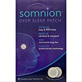 Somnion Deep Sleep Patch – Natural Sleep Aids - Increase Deep and REM Sleep – Simple Electromagnetic Patch for Insomnia Relief - No Drugs or Chemicals, 31 Day Supply