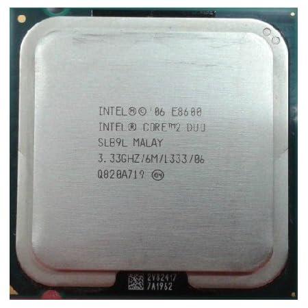 Intel Core 2 Duo E8600 SLB9L 3.33GHz Processor 1333 CPU Socket 775 LGA775