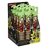 Star Wars Micro Force Wow! Series #4 | Pack of 12 Mini Lightsaber in Assorted Colors - Each Lightsaber Contains 4 Figures and 1 Sticker Sheet