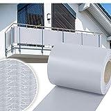 HG PVC Valla Protectora de privacidad 65m |Estera Protectora de Intimidad Cañizo de PVC Doble Cara para Jardín Balcón