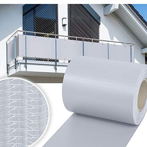 huigou HG® 2X 35m Sichtschutzfolie Zaunblende Folie PVC Rolle Windschutz für Doppelstab Mattenzaun inkl. Befestigungsclips