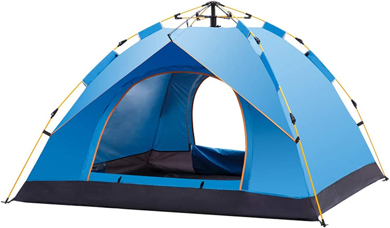 Giow Offenes Zelt Im Freien, Elastisches Campingzelt Wasserfeste Sonnencreme Für 3-4 Personen