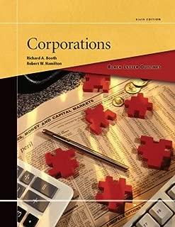 Black Letter Outline on Corporations (Black Letter Outlines)
