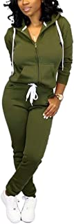 Womens 2 Piece Tracksuit Long Sleeve Casual Patchwork Pants Set