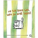 Brillenputztuch - Katze - 'Catzz - Ich seh was' 15x18cm
