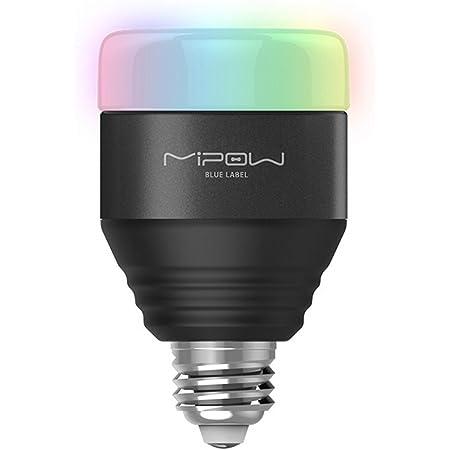 MIPOW スマートLED電球 5W (40W相当), Bluetooth4.0搭載調光調色 APPコントロール機能 [並行輸入品]