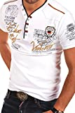 MT Styles 2in1 T-Shirt GLOBAL Polo R-2743 [Weiß, L]