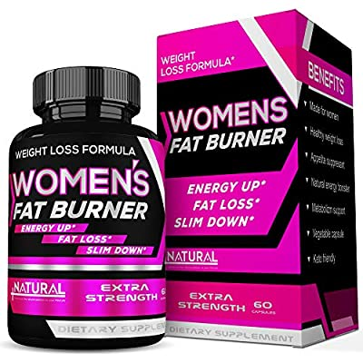 Appetite Suppressant Fat Burner Supplements Thermogenic Weight Loss - Diet Pills That Work Fast for Women - Weight Loss - Keto Friendly- Carb Blocker