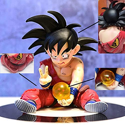 Dragon Ball Z Actions Figures DBZ Goku Super Saiyan Figurine Doll, Collection Model Toy, Suitable for Adults and Children, Best Gift Family or Car Decoration Ornaments PVC