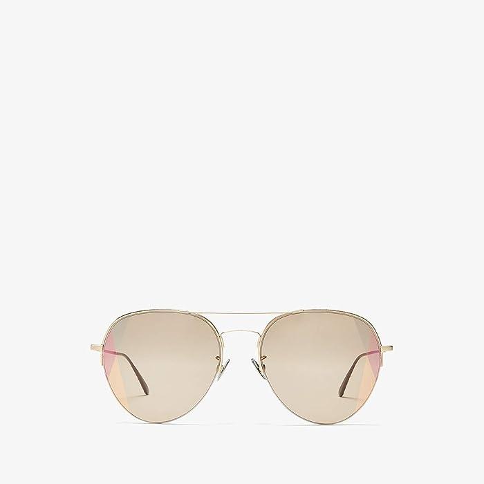 Bottega Veneta  BV0247S (Gold) Fashion Sunglasses
