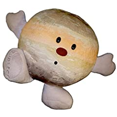 Jupiter is the most massive planet in our solar system Jupitar plush is soft and huggable Made Of Soft Plush With Polyester Filling And Embroidered Detailing more tools Collect All The Planets! Makes A Fantastic Birthday Or Christmas Gift For Your Lo...