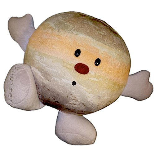 Solar System Plush - Planet Jupiter Stuffed Toy