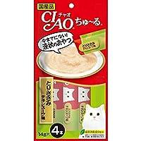 【セット販売】チャオ ちゅ~る とりささみ チキンスープ味 (14g×4本)×6コ[ちゅーる]