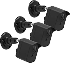 Wyze Cam Wall Mount Bracket, 360 Degree Protective Adjustable Mount with Cover Case for Wyze Cam V2 V1 Indoor Outdoor Use (3 Pack - Black)