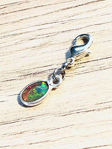 Charm Anhänger mit Athiopischen Welo Opal für Armbänder