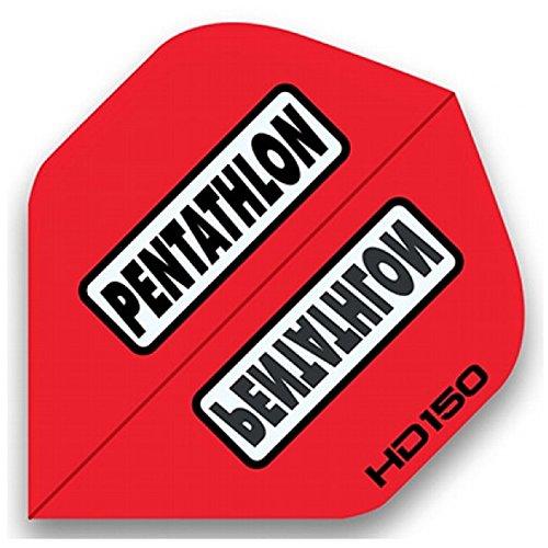 Pentathlon HD150 Flights, 5 Satz = 15 Stück (Rot)