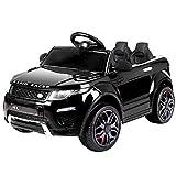 RIGO Kids Ride On Toy Car Remote Control 12V Battery-Black