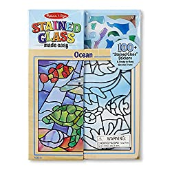 "Melissa & Doug Peel& Press ""Stained Glass"" Undersea Fantasy"