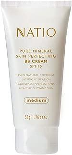 Natio Pure Mineral Skin Perfecting BB Cream SPF 15 Medium, 50g