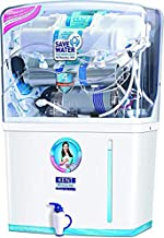 KENT New Grand 8-Litres Wall-Mountable RO +Double UV+ UF + TDS (White) 20 ltr/hr Water Purifier