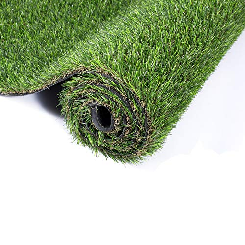 GOLDEN MOON Artificial Grass for Dogs 1' 3ft x 5ft Pet Grass Puppy Potty Training Grass Pee Pad Fake Grass Mat for Garden Play Yard Autumn Grass Series