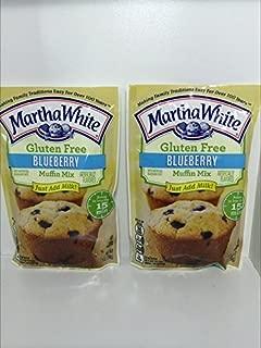 Martha White Gluten Free Blueberry Muffin Mix 7 Oz. - Pack of 2 by Martha White®