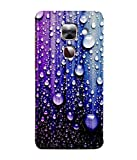 PrintVisa Designer Premium Back Cover Case for LeEco Le Max 2, LeTV Max 2 (Rain Drops Water Glass Fancy)