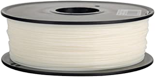 Anet 3D Printing Filament,340m Lenght 1.75mm PLA Biodegradable filament 3d printing Material,Dimensional Accuracy 0.02mm 2.2lbs Spool for 3D Printers&3D Pen-White