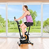 METIS Calobra Beginners Exercise Bike - 8 Resistance Levels | Cardio Workout - Indoor Fitness Bike | High-Quality Exercise Equipment For Home Use | Stationary Bike