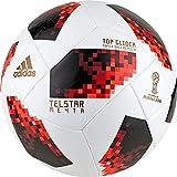 adidas W Cup Ko Tglid, Pallone Unisex Adulto, Bianco/Solred/Nero, 5...