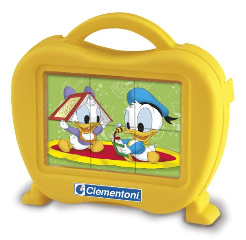 Clementoni - 40649.4 - Puzzle Baby 6 Cubes - Disney Babies
