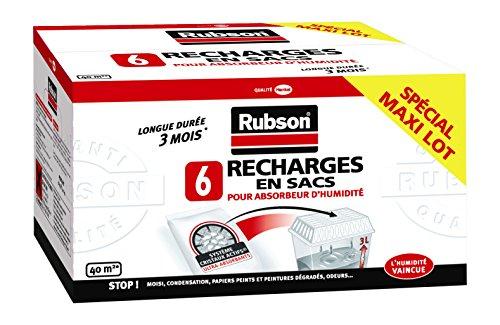 Rubson Recharges Classiques pour Absorbeur par 6