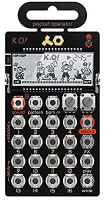 Teenage Engineering PO-33 Pocket Operator KO Sampler/Sequencer by Teenage Engineering