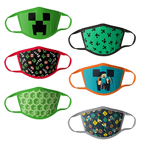 Minecraft Kids Reusable Mask Multipack, OSFA
