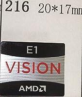 ■【AMD VISION E1】エンブレムシール 20*17mm