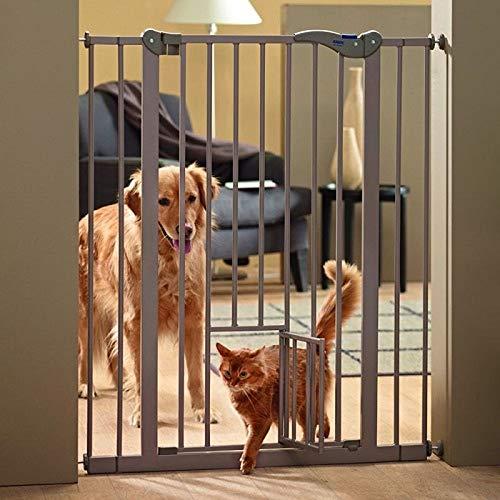 PaylesswithSS Absperrgitter für Hunde, mit Katzenklappe