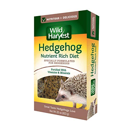 Wild Harvest Hedgehog Nutrient Rich Diet 22 Ounces, Daily Food Fortified with Vitamins and Minerals