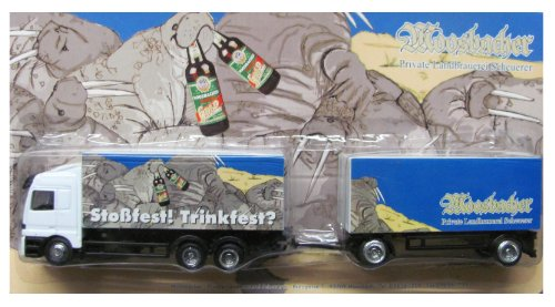 Moosbacher Nr.08 - Stoßfest ! Trinkfest - MB Actros - Hängerzug