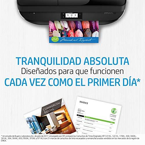HP 21-22 SD367AE, Negro y Tricolor, Cartuchos de Tinta Originales, Pack de 2, compatible con impresoras de inyección de tinta Deskjet Series D1000, D2000, F2000, F300, F4000 e Officejet Serie 4000