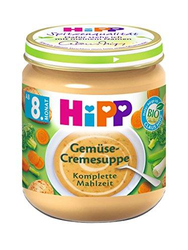 HiPP Gemüse-Cremesuppe, 6er Pack (6 x 200 g)